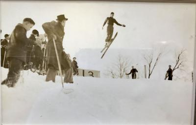 Locals remember skiing the rope-tow slopes