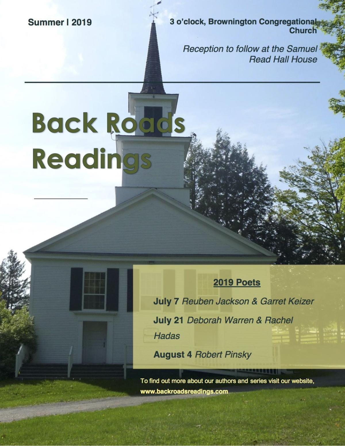 Back Roads Readings