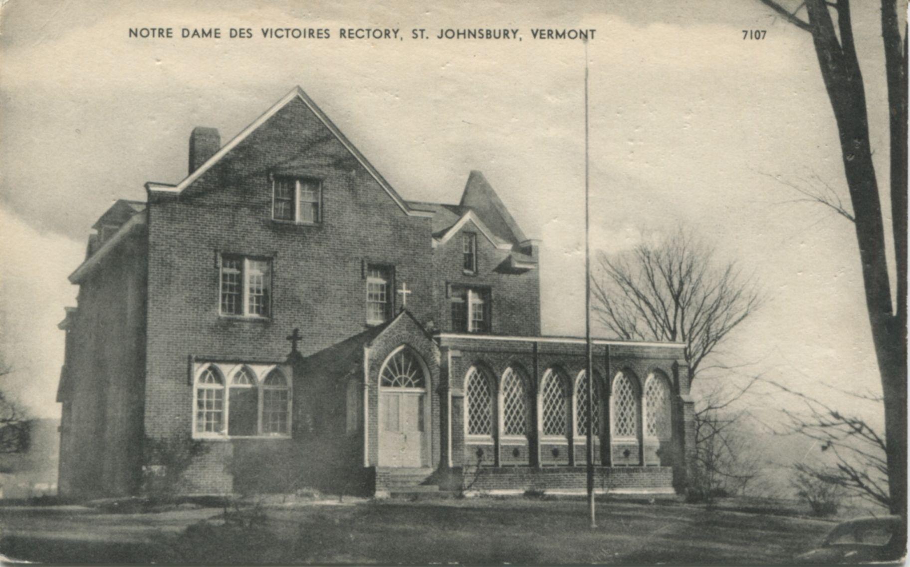 "Boston MA Catholic churches /""NOTRE DAME DES VICTOIRES/"" © 1892 Reprint"