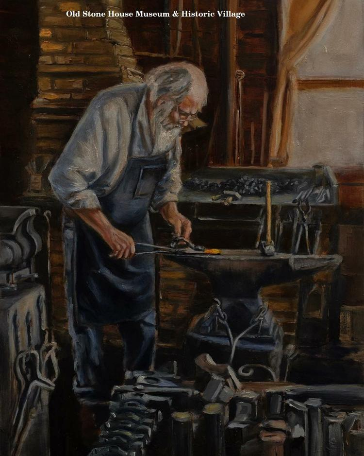 Learn to Blacksmith at Old Stone House Museum & Village