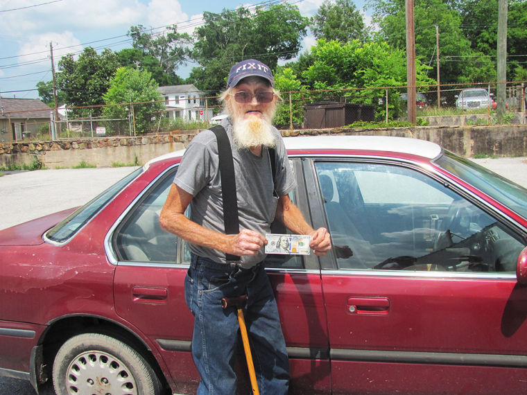 Senior Citizen's guardian angel