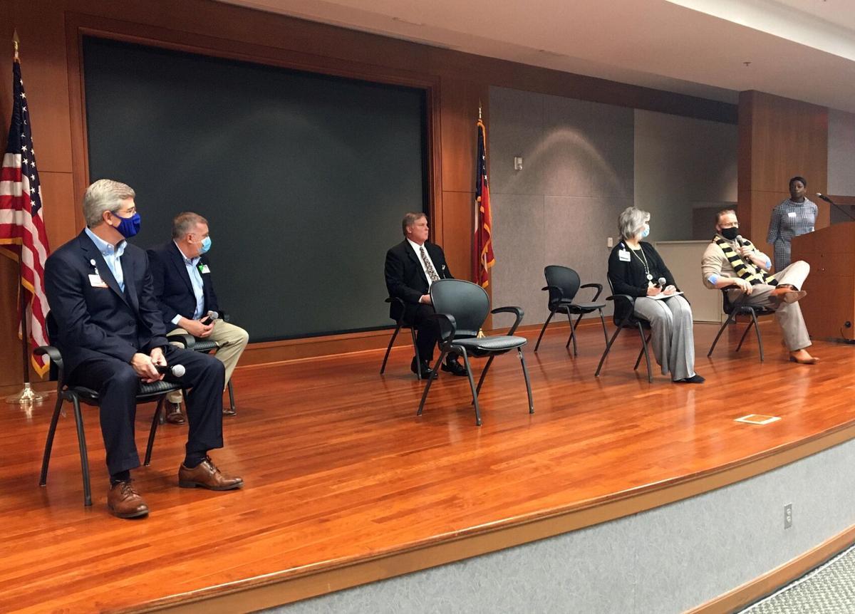 Panel at summit
