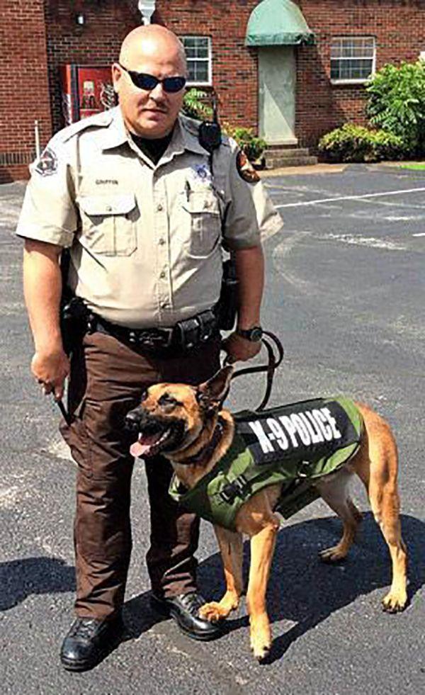 Deputy Griffin, K9 Rocky