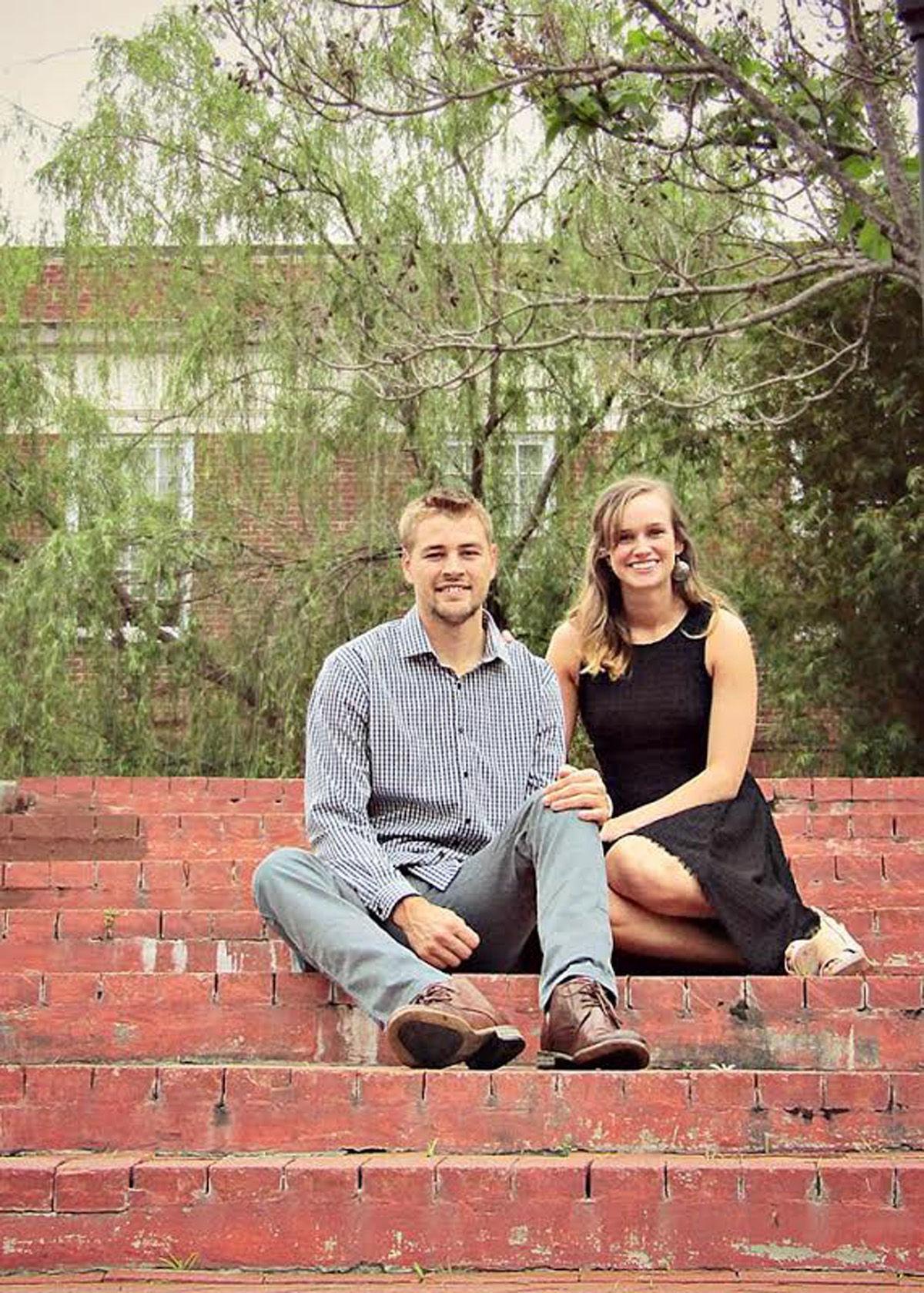 Maggie Lambert and Zachary Hale