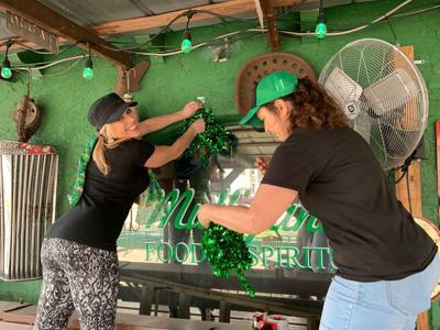 Mulligans prep for St. Patrick's Day 2019