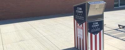 Cobb ballot drop box