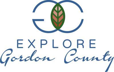 Explore Gordon County Logo - Blue