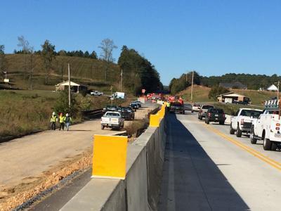 Construction accident in Calhoun