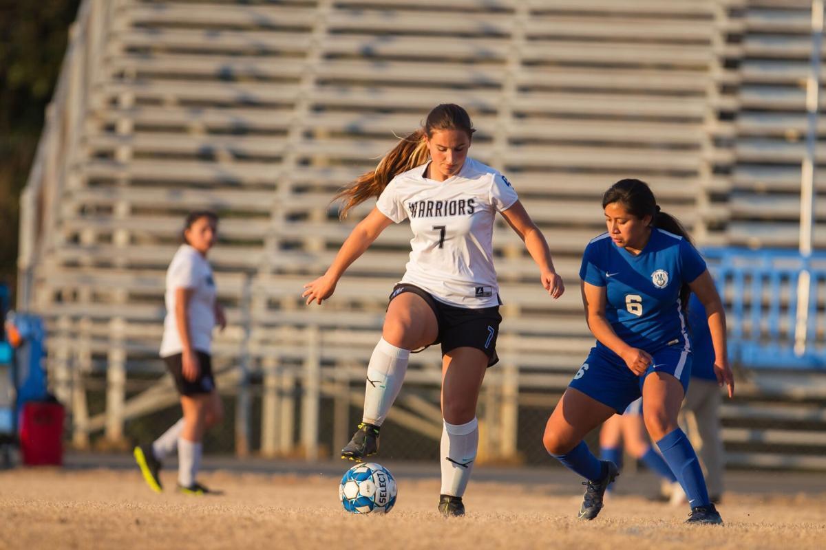 GC's Cora Stepp vs. Model Soccer