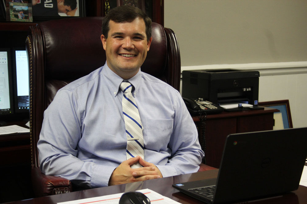Armuchee High Principal John Rhodarmer