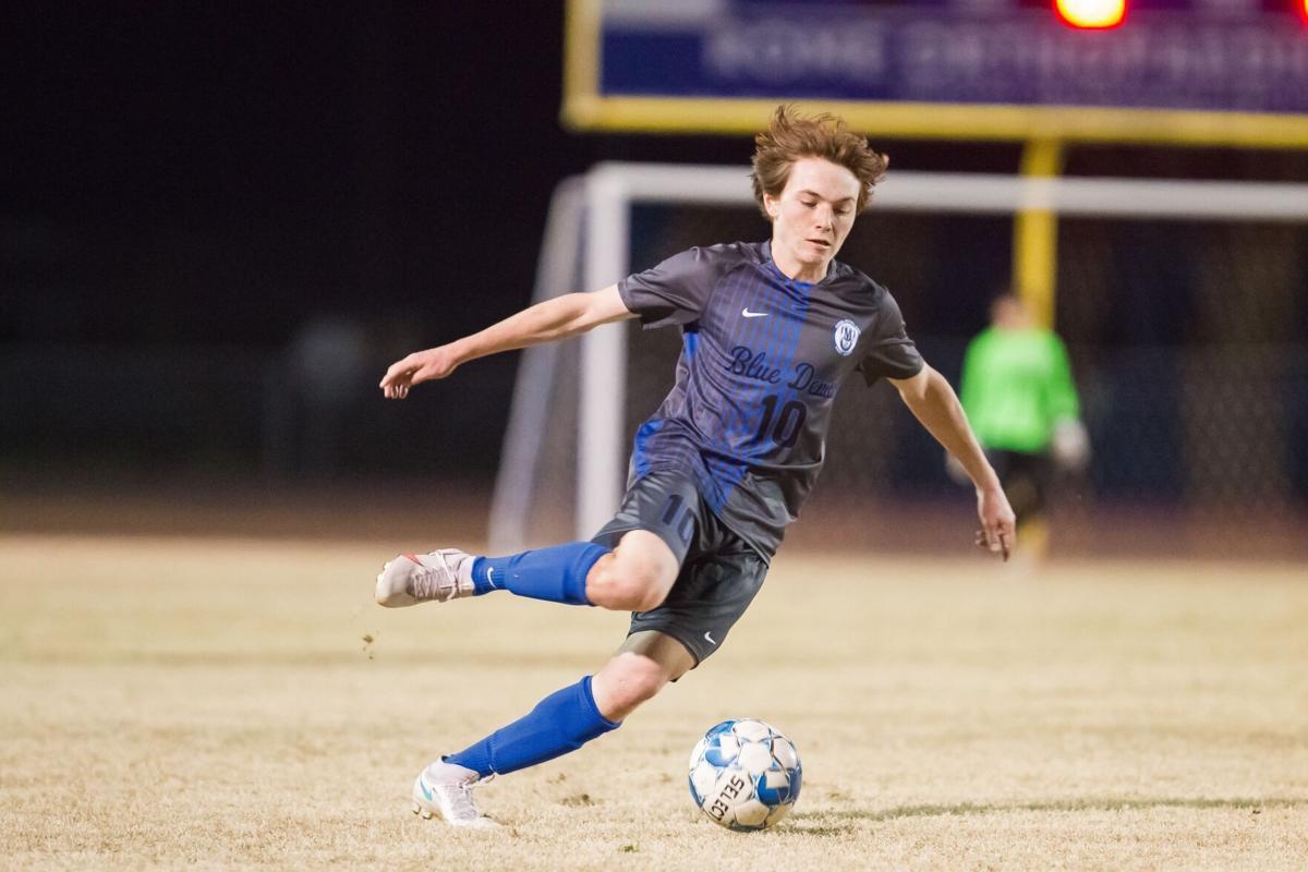 Model's Greyson Padgett vs. GC Soccer