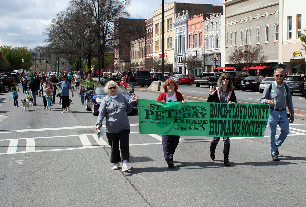 St. PETrick's Day Parade