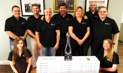 Halstead international receives the Home Depot's coveted Innovation of the Year Award