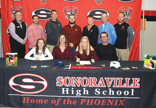 Sonoraville's Clara Hulsey signs with Lee University