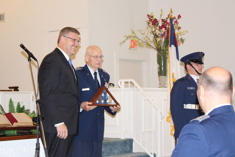Alex Mills receives Congressional Gold Medal