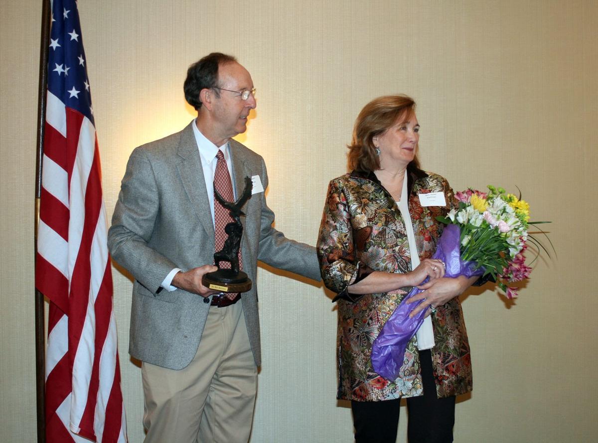 Hortman honored
