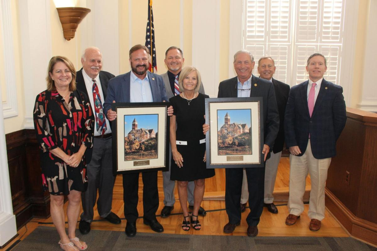 Local legislators recognized with awards from ACCG