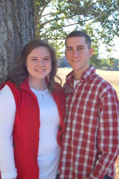 Elizabeth White and Daniel McGhee