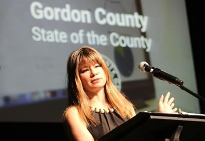 Becky Hood, chair of the Gordon County Board of Commissioners