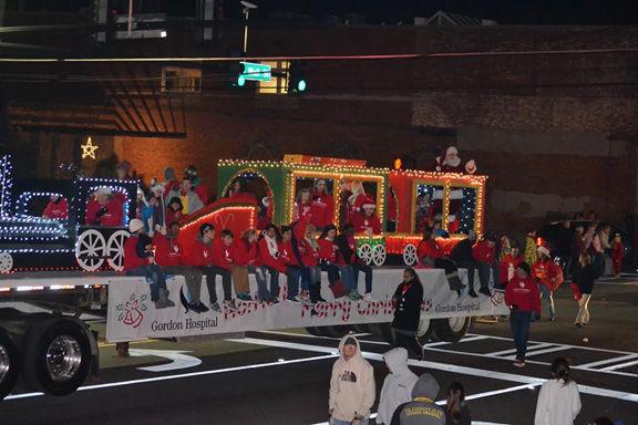 Annual Calhoun Christmas Parade of Lights set for Thursday, Dec. 8, begins at 7 p.m.