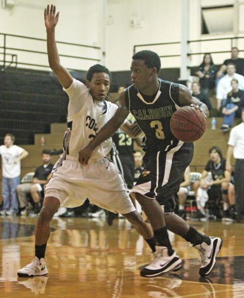 Boys Basketball: Calhoun at Coosa