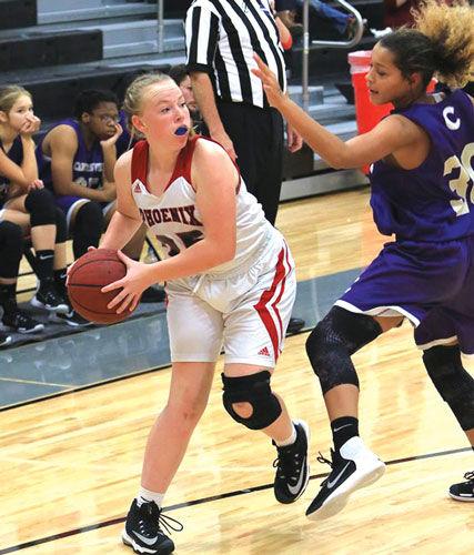 Red Bud girls basketball vs. Cartersville