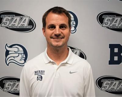 Berry men's basketball assistant coach Josh Pittman