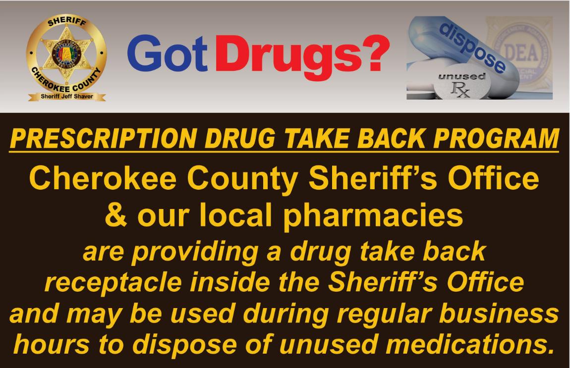 Drug Take Back Graphic