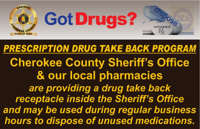 Drug Take Back Graphic
