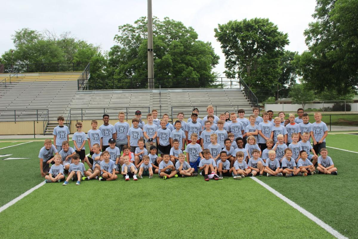 Calhoun hosts K-8 football clinic