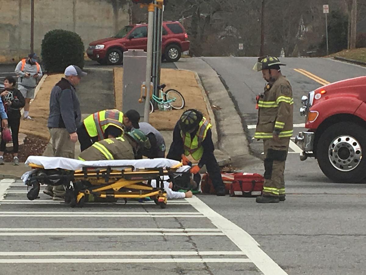 Man struck on Turner McCall