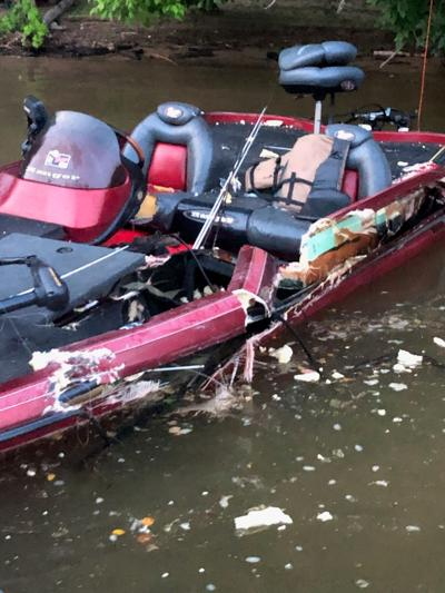 Two injured in boat collision on the Coosa River