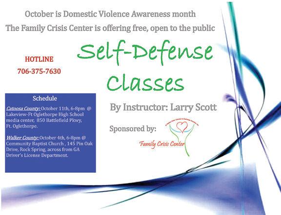 Self-defense classes