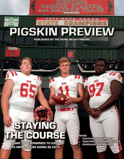 2019 Rome Pigskin Preview Cover