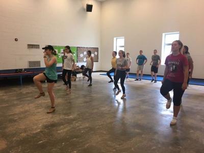 Mixon's tap dancers