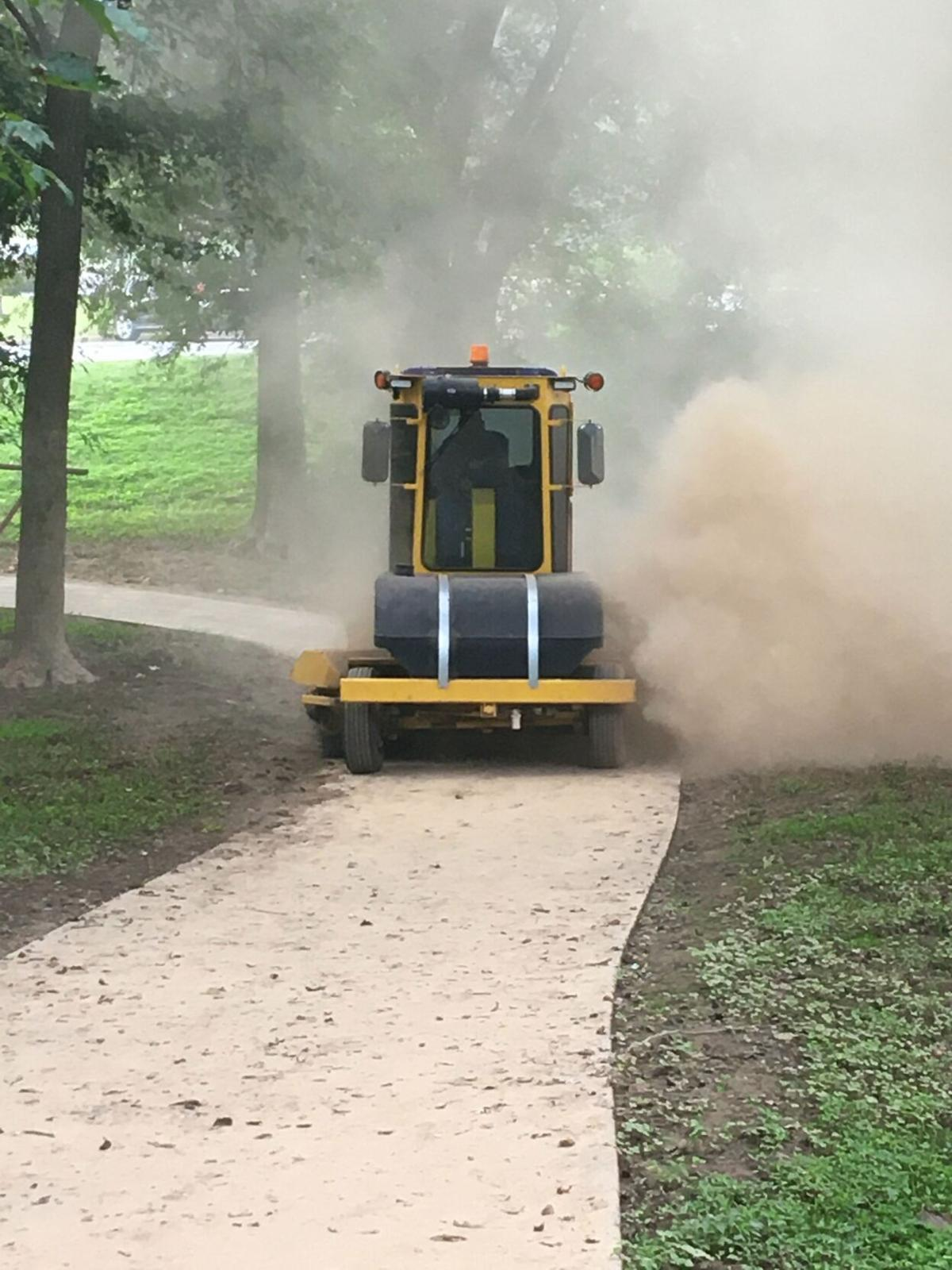 City begins cleanup of trails along Oostanaula after flooding