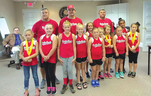 Gordon County 8-under Softball All-Stars