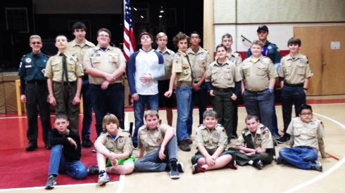 Local Scout troop holds sack lunch fundraiser