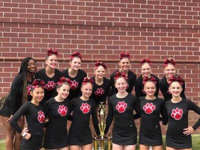 Cedartown Competition cheer squad
