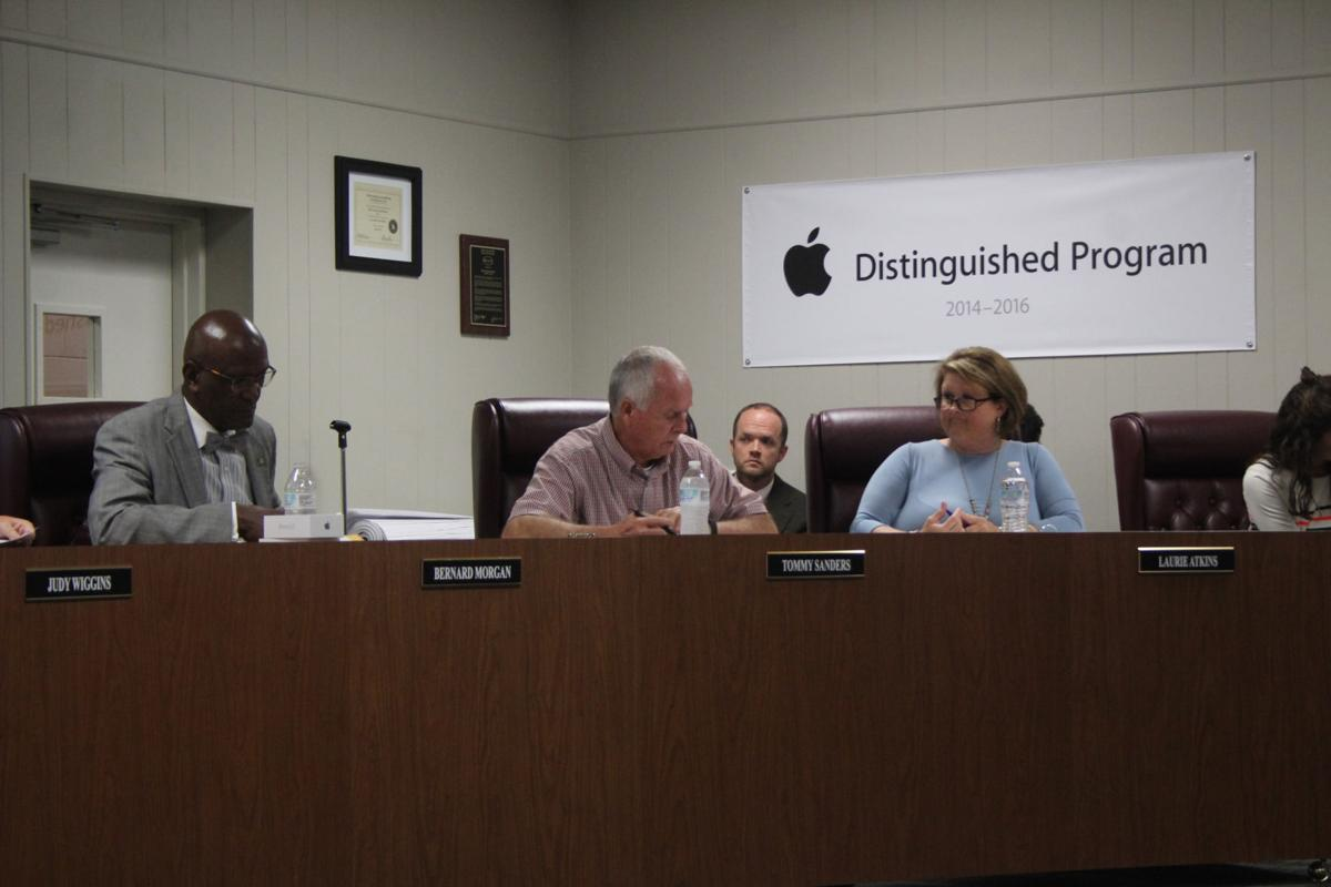Polk County Board of Education, September 2017 meeting