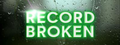 record rainfall