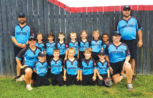 Gordon County 5-6 All-Stars qualify for State