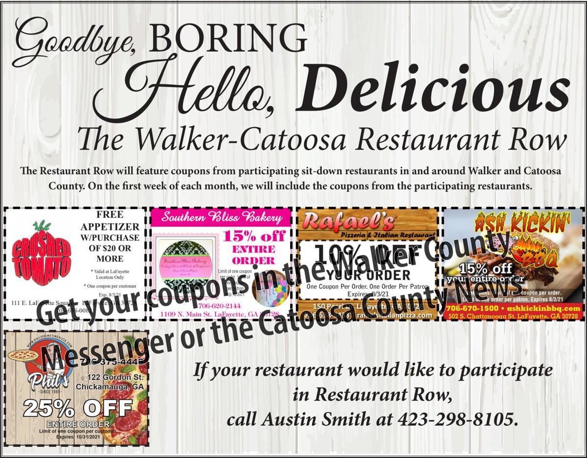 Walker/Catoosa Restaurant Guide