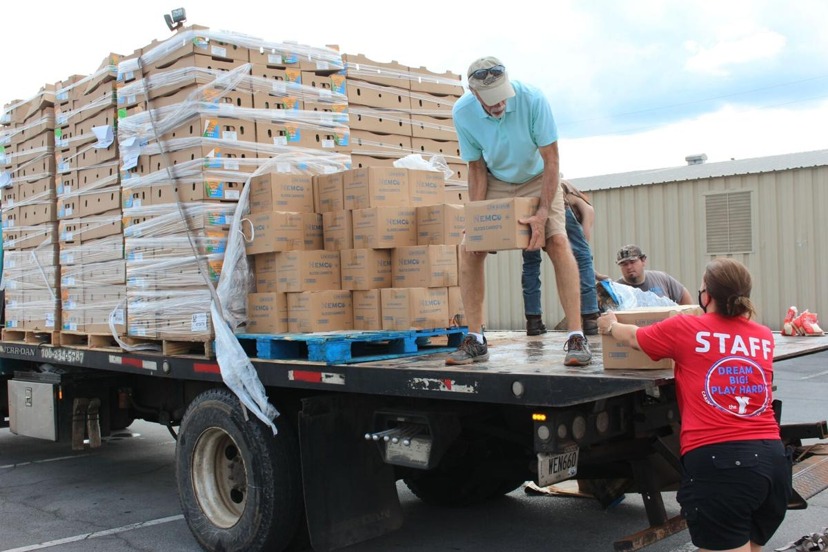 Floyd County Schools moves over 30 tons of food through meal programs and pop up markets