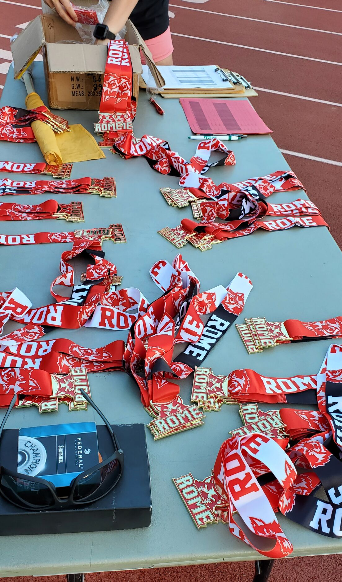 Rome City Schools Youth Track and Field Camp Awards