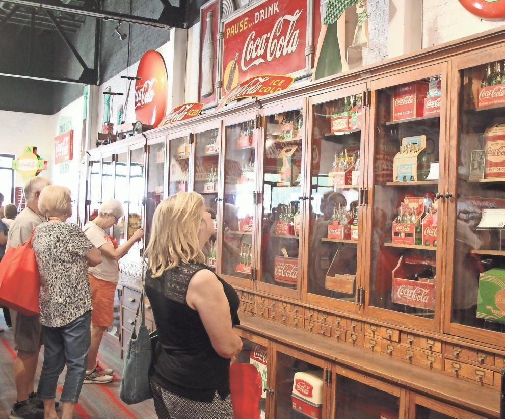 Sharing the love of all things Coca-Cola in Cedartown