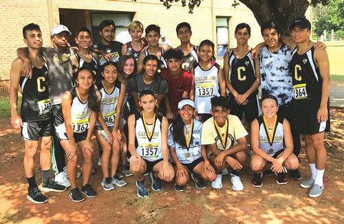 Calhoun girls and boys cross country at Carrollton Orthopedic Invitational