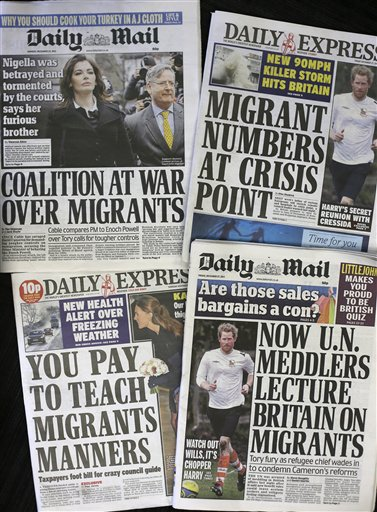 Britain Immigration Fears