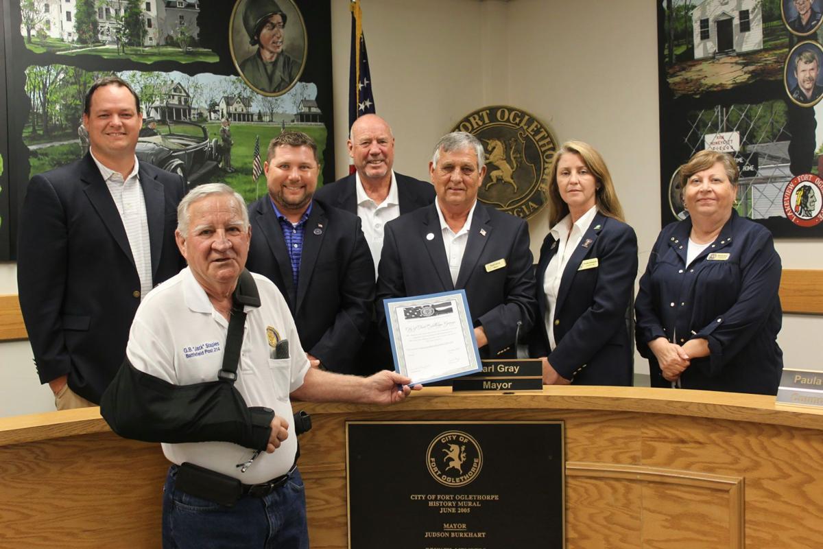 American Legion recognized Fort Oglethorpe
