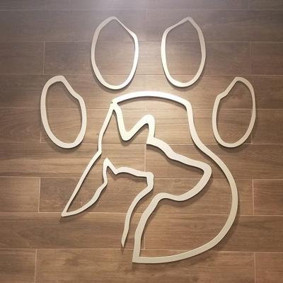 PAWS logo sign